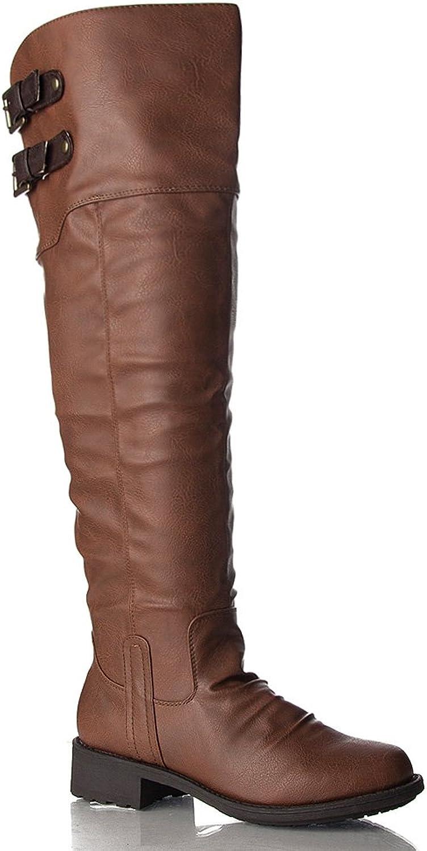 Qupid Women's Relax-01X Riding Boot