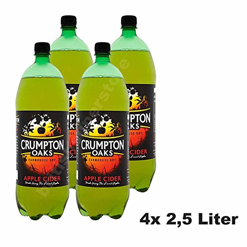 Crumpton Oaks Farmhouse Dry Apple Cider 4x2,5 Liter Alc. Vol. 5,0%