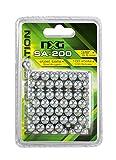 NXG Unisex - Adultos 2.2415 2.2415-NXG SA-200 Steel Balls, Plata, 9.5mm