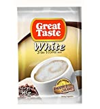 Great Taste Philippines 3-in-1 White Coffee Mix 30g, 10 packets