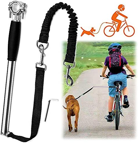 Videosystem Dog Hands Free Leashes Dog Bike Leash Dog Bicycle Exerciser Leash for Exercising product image