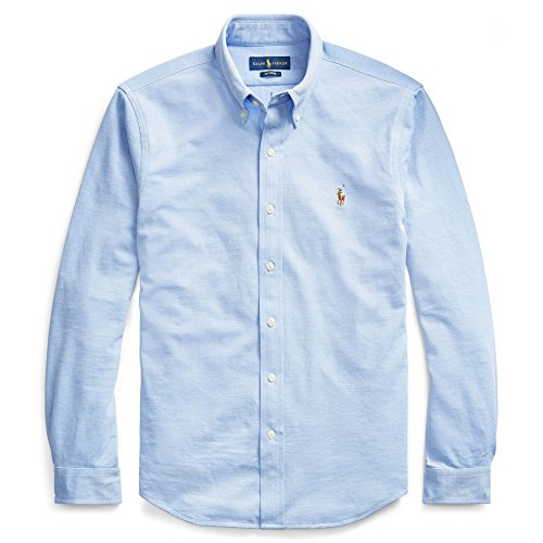 Polo Ralph Lauren Camisa Button Down Tejido oxfod Classic Fit