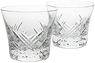 Baccarat Crystal STELA Tumbler Number 2 SET OF 2 Brand New with Tag in Original Red Gift Box