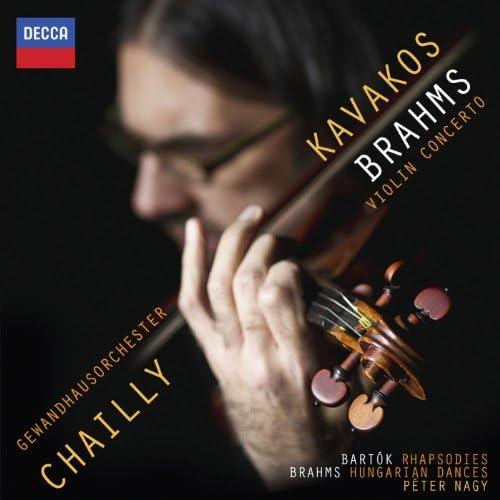 Leonidas Kavakos, Gewandhausorchester Leipzig, Riccardo Chailly & Peter Nagy