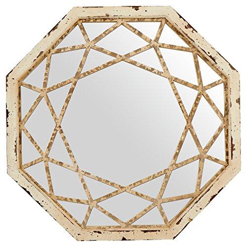 espejo octogonal de la marca Amazon Basics