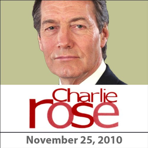 Charlie Rose: Colin Firth, Tom Hooper, and Fran Lebowitz, November 25, 2010 audiobook cover art