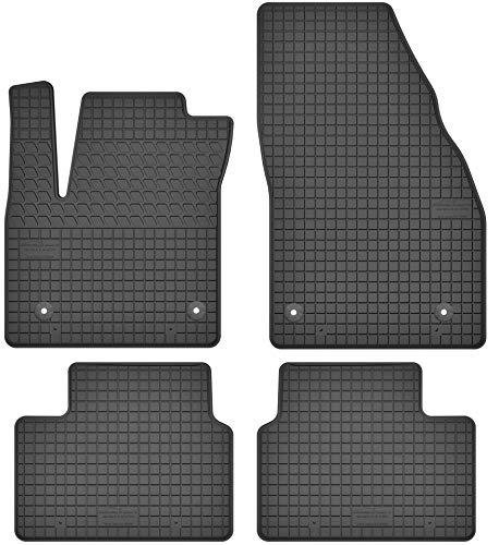 Motohobby Gummimatten Gummi Fußmatten Satz für Opel Meriva B (2010-2017) - Passgenau