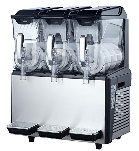 Kolice Commercial 3x10L tanks Slush machine,Milkshake Maker,Frozen Beverage Making Machine, Frozen drinks making machine