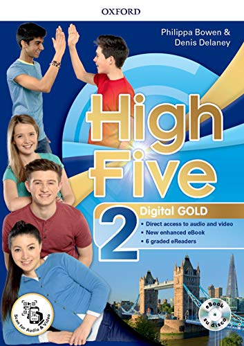 High five. Digital gold. Per la Scuola media. Con e-book. Con espansione online [Lingua inglese]: 2