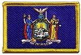 Flaggen Aufnäher USA New York Fahne Patch + gratis