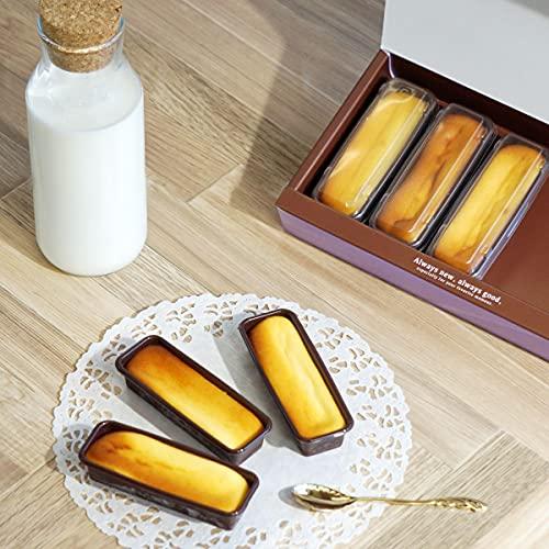 わらいみらい チーズケーキ 冷凍 ベイクドチーズケーキ チーズバー スイーツ ギフト (6個入)