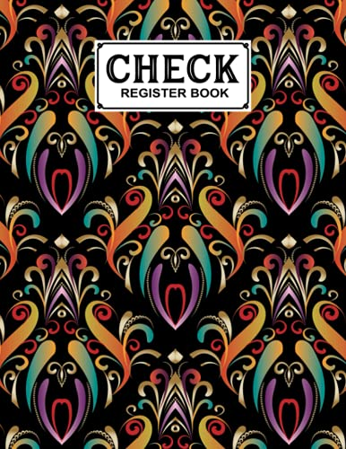 Check Register Book: Check Register Book Mandalas Cover, A Book to Keep Track of the Checks in Your Accounts, Checkbook Register