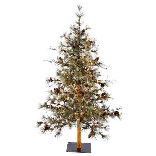 Vickerman Christmas-Trees, PVC, Green, 3'