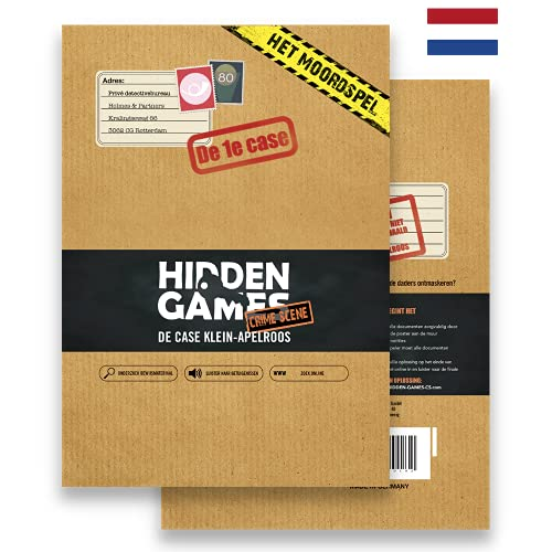 Hidden Games Escape Room Spel - Escape Room Spel