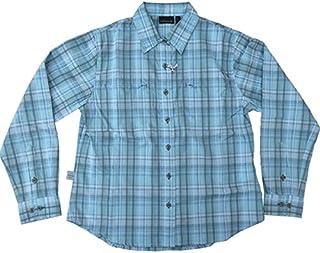 ラフマ Lafuma レディース プリバス2 ロングスリーブシャツシャツ リバーブルー Mサイズ LFV0408