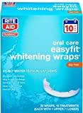 Rite Aid Easyfit Whitening Wraps (10 Treatments - 1 Upper and 1 Lower) - 20 Count