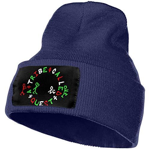 A Tribe Called Quest Warm Knit Cuff Beanie Cap Daily Beanie Hat for Men Navy
