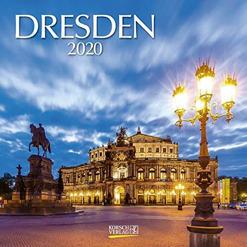 Dresden 2020: Broschürenkalender mit Ferienterminen