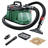 Bosch Home and Garden 06033D1000 Aspiratore Compatto, 700 Watt, W, Verde