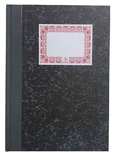 Dohe 9982 - Cuaderno cartoné, cuadrícula, cuarto natural