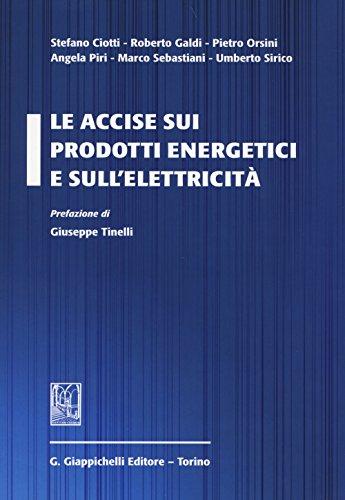 Le accise sui prodotti energetici e sull'elettricità
