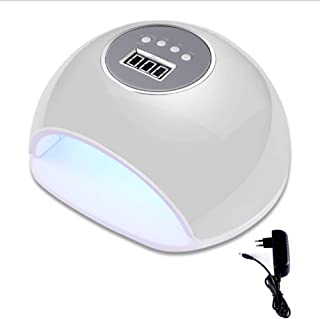 ZHTY Secador de uñas Inteligente automático sin Dolor 72W máquina de fototerapia de uñas de Secado rápido lámpara led secador de lámpara de uñas para Hacer esmaltes de uñas horneado a Mano