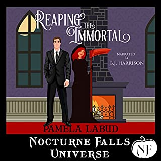 Reaping the Immortal audiobook cover art