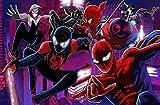 Livraison Gratuite Papier Peint Personnalisé Moderne À Grande Échelle 3d Animation Spiderman Canapé Chambre Tv Toile De Fond Papier Peint