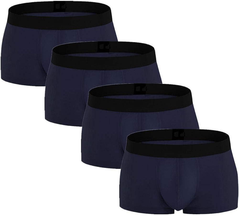 Max New sales 88% OFF Boxer Briefs For Men 4Pcs Cotton Boxers Mens Lot Underwear
