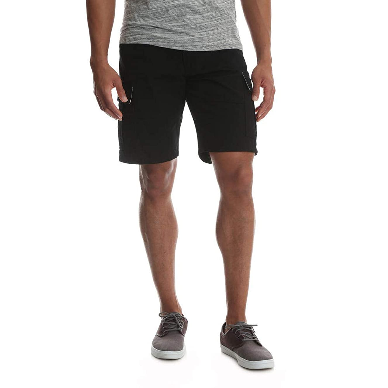 Wrangler Men's Big and Tall Relaxed Fit Cargo Shorts