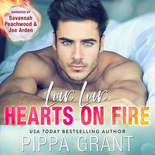 Liar, Liar, Hearts on Fire audiobook cover art