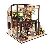 LINAG Puppenhaus Häuser Minipuppen DIY Mini-Szene Spielzeug Möbel Village Zubehör Szenenspielzeug...