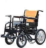 AYHa Batería de ruedas Superior en las cuatro ruedas Scooter eléctrico discapacitados en silla de ruedas eléctrica plegable de la batería de la bicicleta en el ascensor Capacidad de carga 100 kg Sill