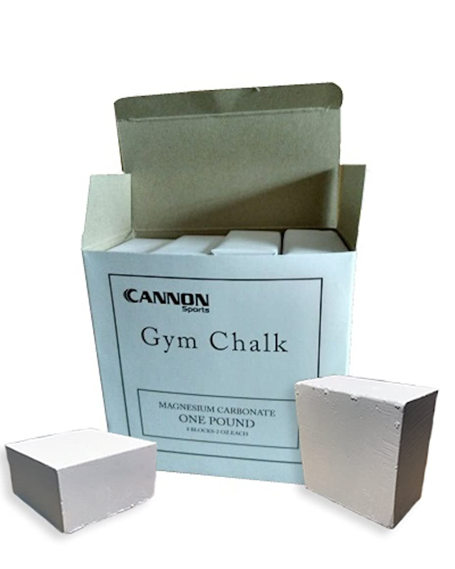 Cannon Sports CSI Gym Chalk, 1 lb.
