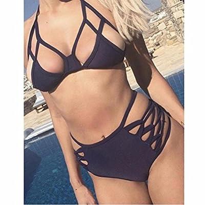 2016 New Sexy Women's Bikini Set Push-up Bandage Bra Swimsuit Bathing Swimwear