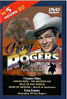 Roy Rogers: Apache Rose/The Arizona Kid/Bells of San Angelo/Song of Arizona/Sheriff of Tombstone
