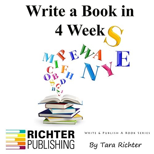 Write a Book in 4 Weeks, Volume 3 audiobook cover art