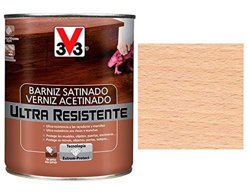 V33 - BARNIZ ULTRA RESISTENTE SATINADO INCOLORO 750 ML