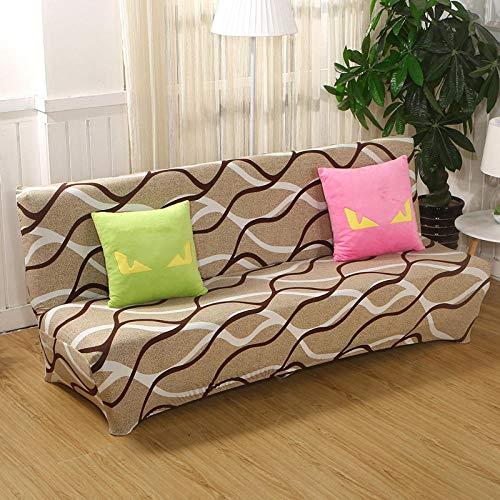 B/H Cubre Sofa Universal Tejido de Poliéster,Funda de sofá Cama Plegable, Funda de sofá elástica-AS,Elegante Tejido Funda de sofá