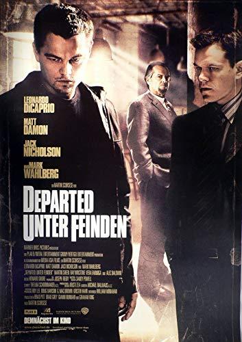 Departed - Unter Feinden Filmplakat 120x80cm gerollt
