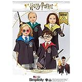 Simplicity S8942 - Patrones de costura para ropa de muñecas de Harry Potter, papel, color blanco