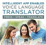 Supreme Tech Portable Language Translator Device – Translate Headphone – Voice...