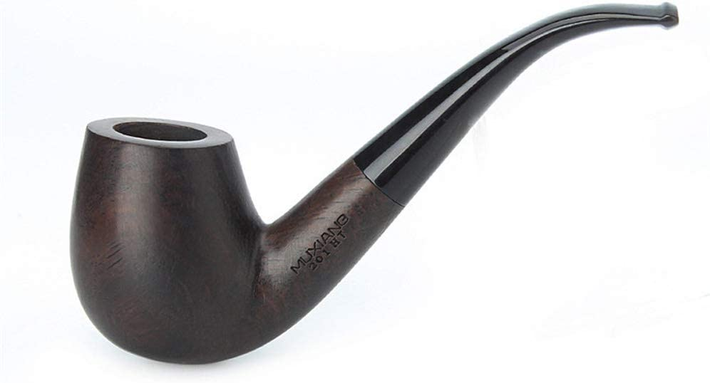 MUXIANG Ebony Pipe Wood Max 67% OFF Tobacco Wooden 9 unisex Pipes mm Fil Paper