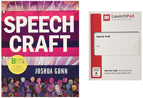 Loose-leaf Version for Speech Craft & LaunchPad (Six Month Access)