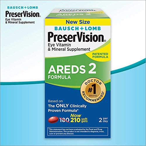 PreserVision AREDS 2 Formula Supplement (210 Count)