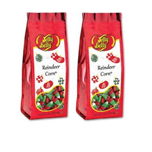 Jelly Belly Reindeer Corn (Candy Corn) 7.5 oz bags - Set of 2 bags
