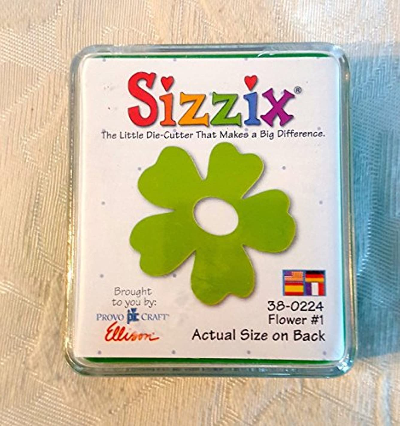 Sizzix Flower # 1 Die Cut