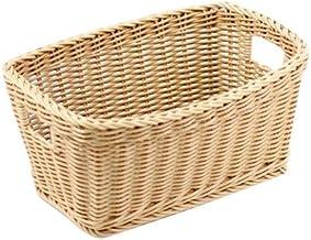 IconChef Storage BasketStorage Basket, Small, Beige, IC101103-KH