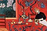 YANCONG Rompecabezas 500 Piezas, La Habitación Roja, Armonía En Rojo