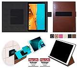 reboon Hülle für LG G Pad II 10.1 Tasche Cover Case Bumper | in Braun Leder | Testsieger